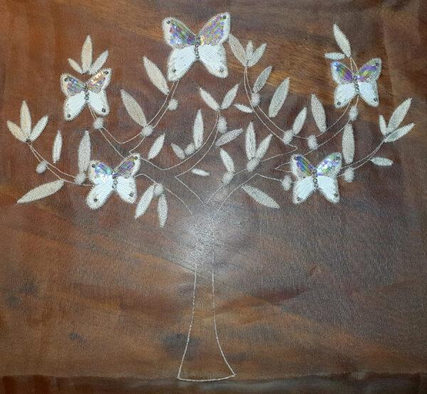 Olivier aux papillons