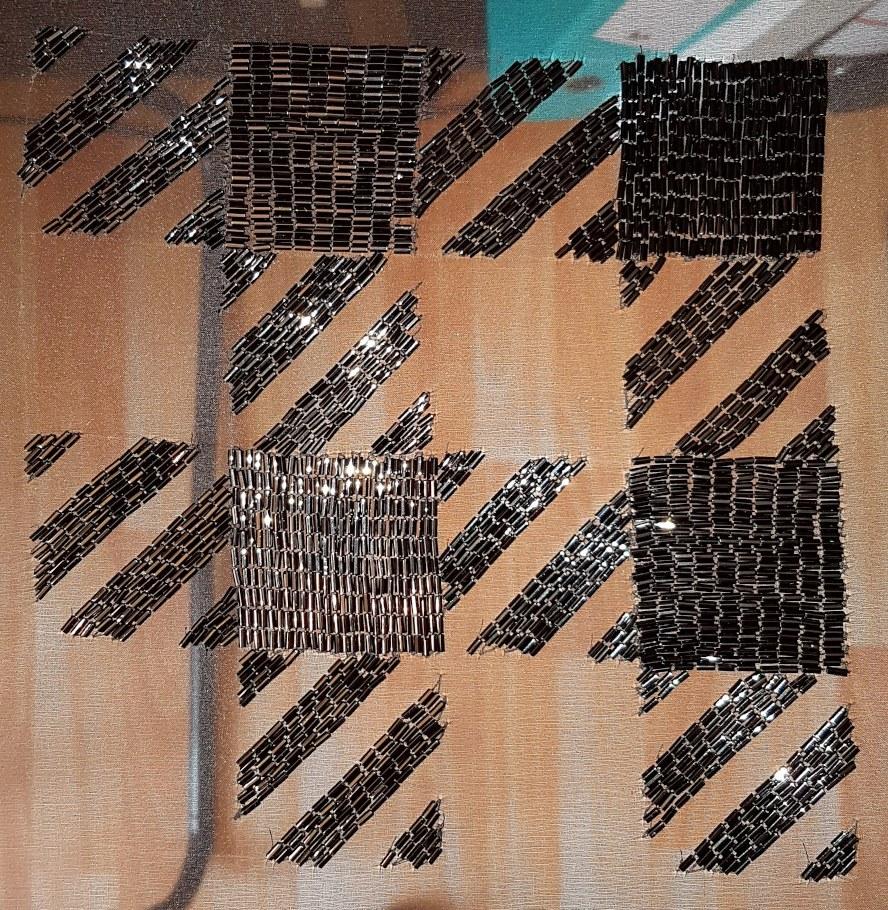 carrés dans carré organza