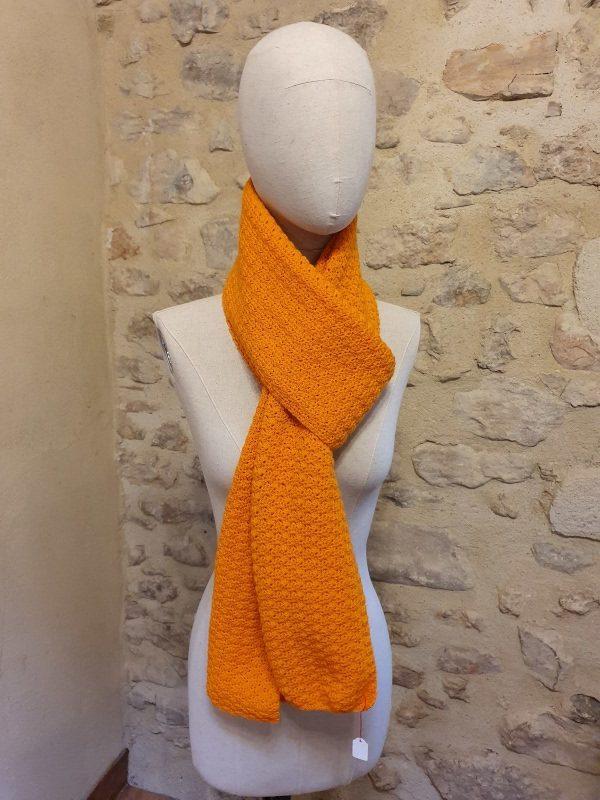 écharpe pampelune orange